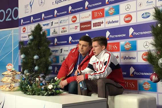 СПб ГБУ СШОР по фигурному катанию на коньках» (Давыденко...) KrasnoyarskRossia2020