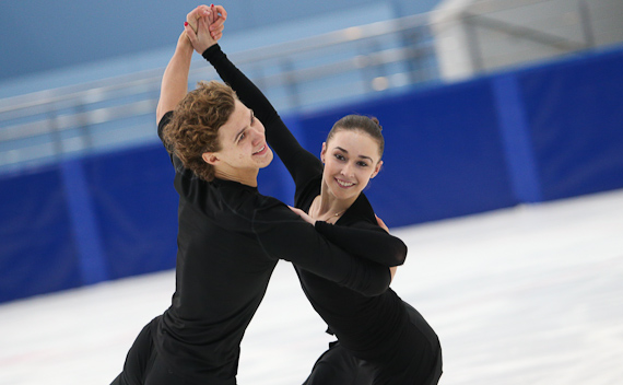 Алла Лобода - Павел Дрозд/танцы на льду B4076